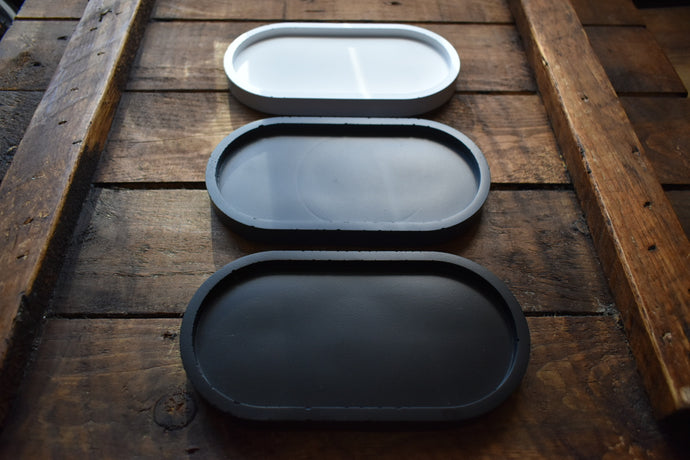 Oval Tray - 3 Colours