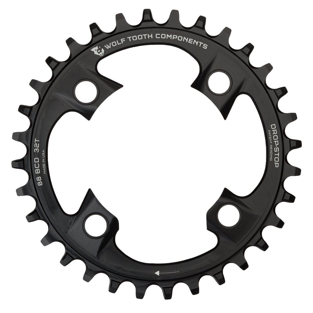 Wolftooth Chainring BCD 88x34T-Black
