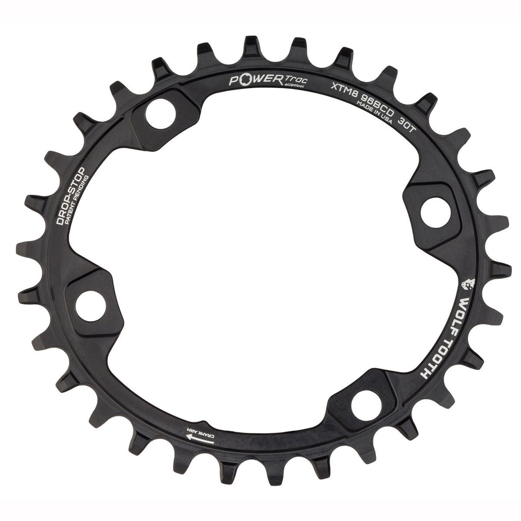 Wolftooth Chainring BCD Elliptical XT M8000 96x32T-Black