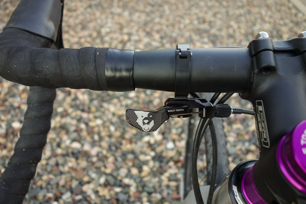 Wolftooth Remote 31.8 Clamp for Drop Bars