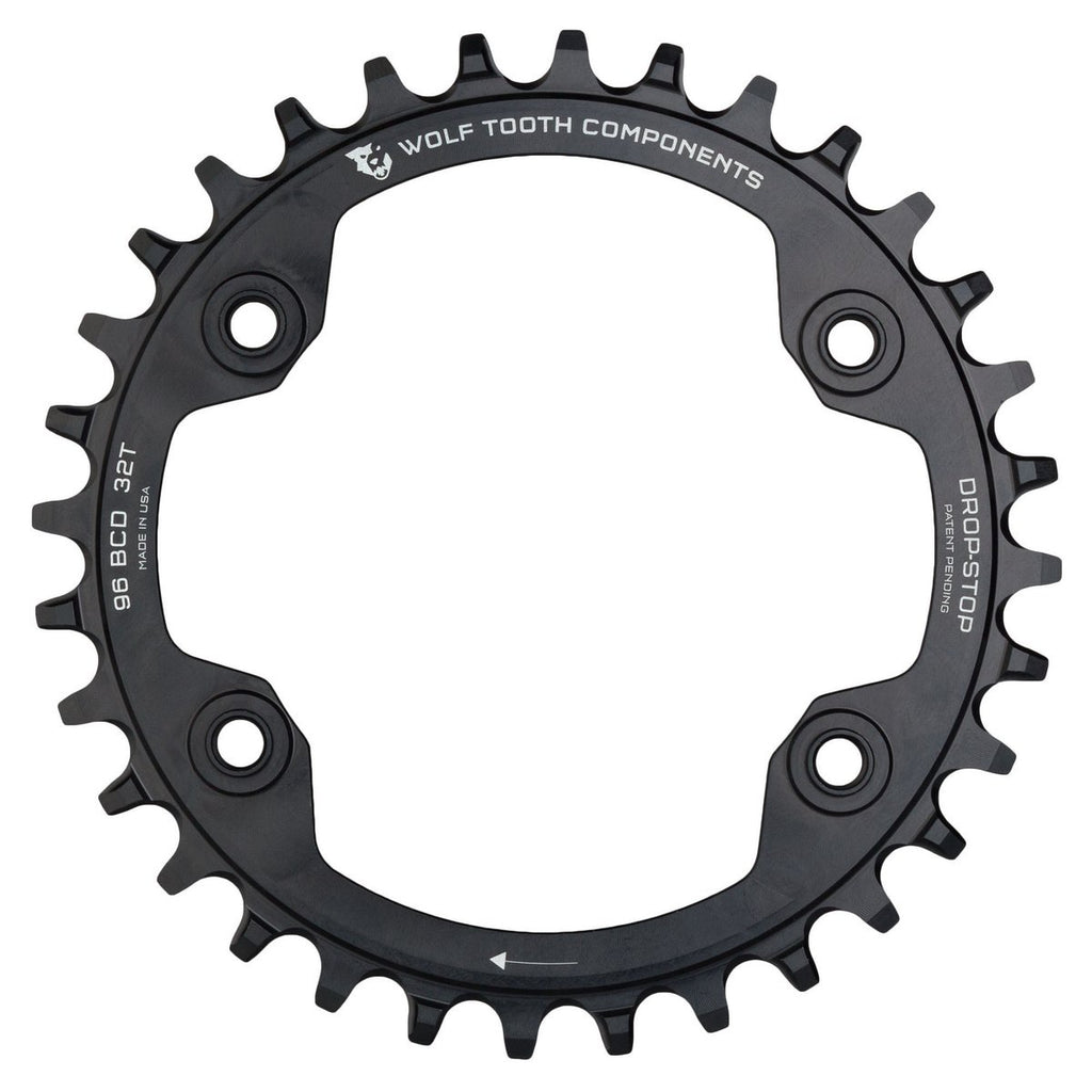 Wolftooth Chainring BCD XTR M9000/M9020 96x30T-Black