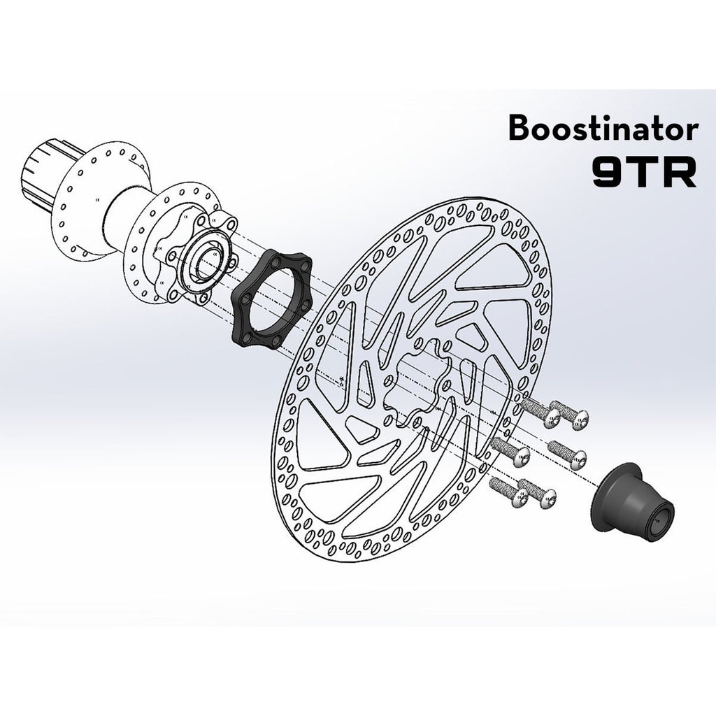 Wolftooth Boostinator 9TR Rear Industry Nine Torch
