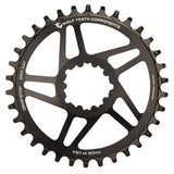 Wolftooth Direct Mount Chainring for SRAM Crank 28T (49mm chainline/6mm offset)-Black