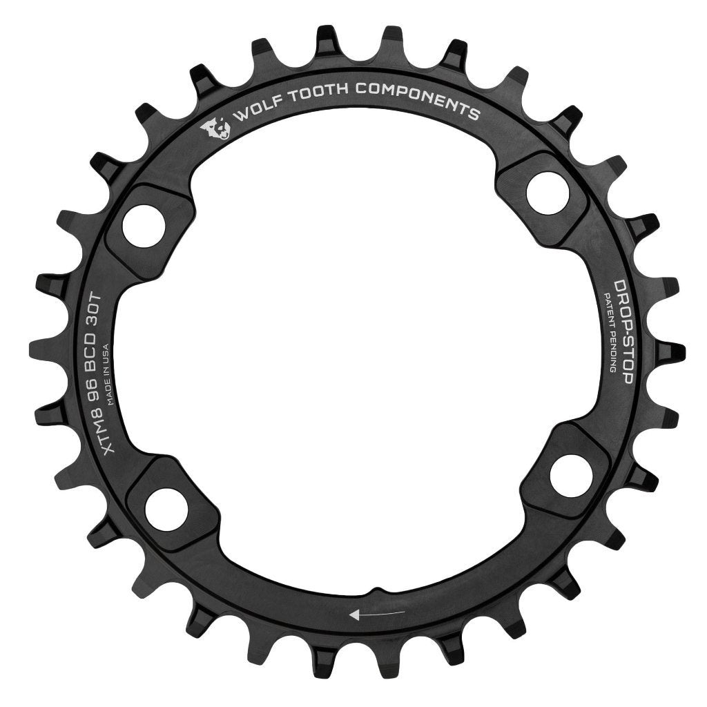 Wolftooth Chainring BCD XT M8000 96x34T-Black