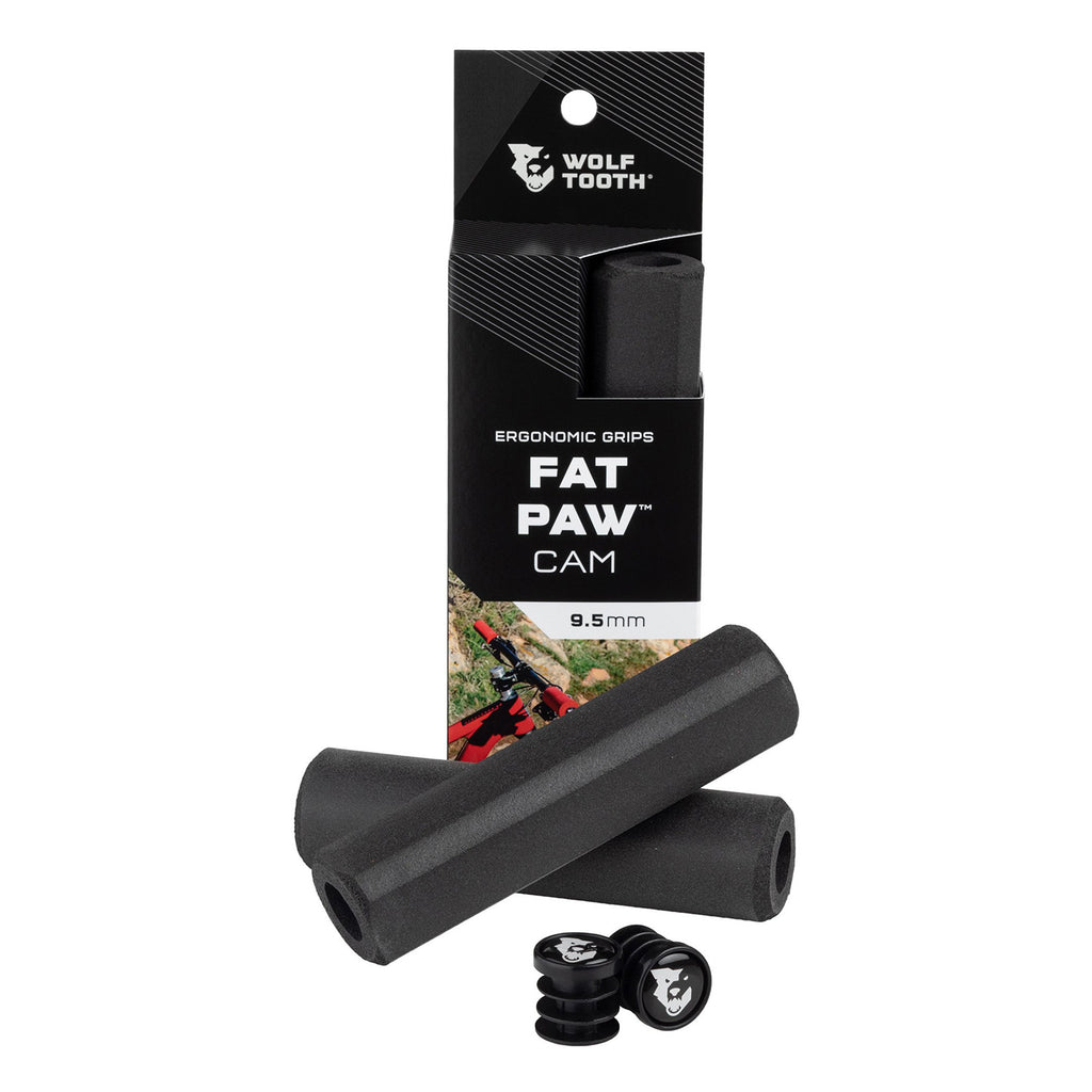 Wolftooth Fat Paw Cam Grip - Silicone/Black