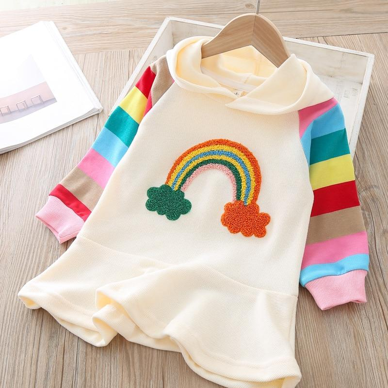 Baby Boho Rainbow Dress | Dress for toddlers