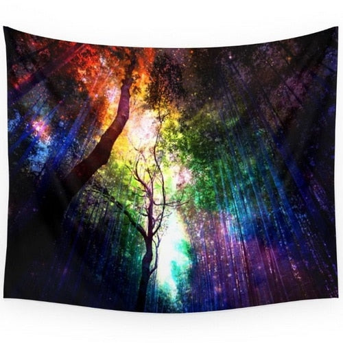 Tree Mandala Tapestry | Bohemian Home Decor | Hippie Tapestry