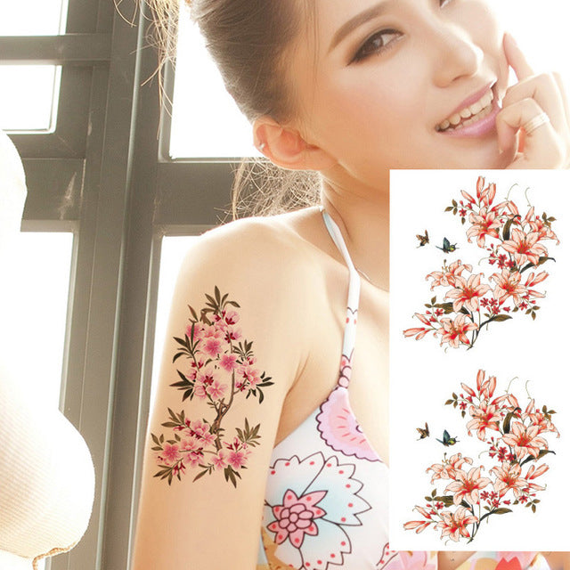 temporary body tattoo for women