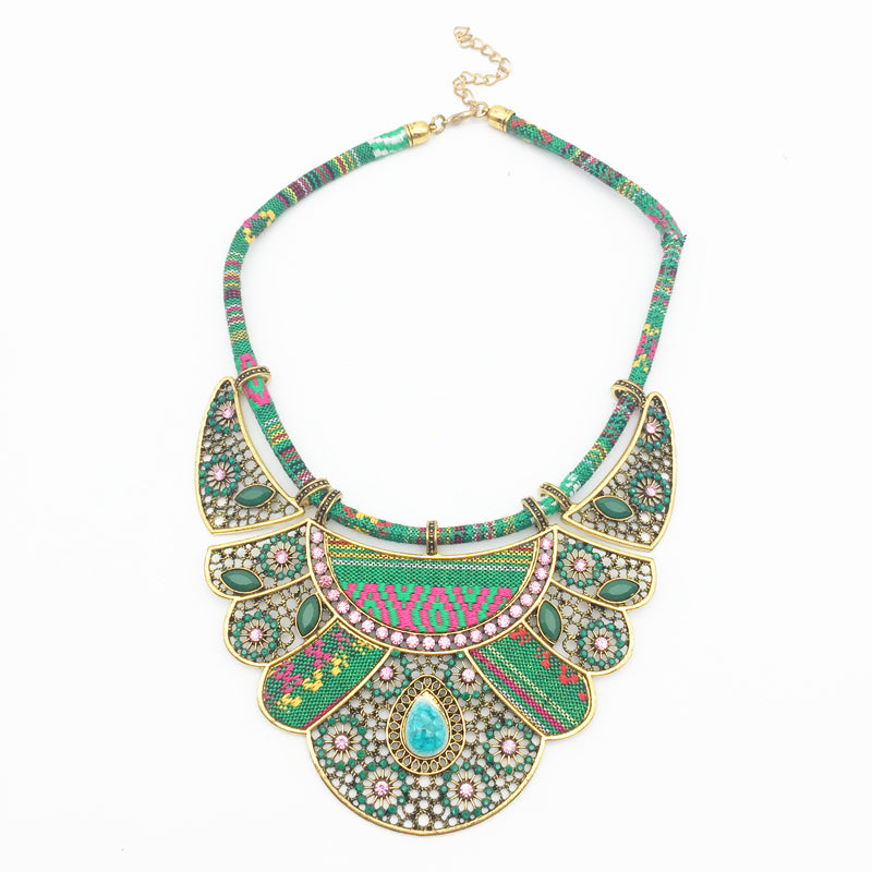 Bohemian Tribal Rope Necklace | Vintage Jewelry