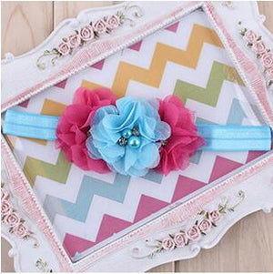 Floral Elastic Headband for Kids