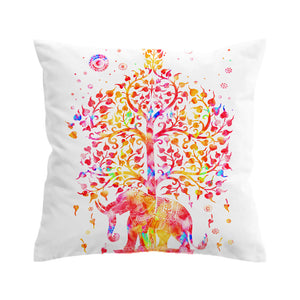 Coloful Boho Style Cushion Cover