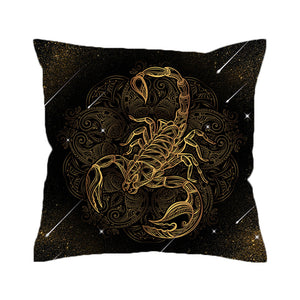 Scorpion Meteor Shower Pillowcase
