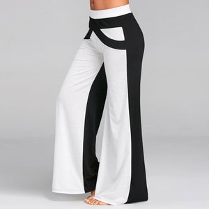 Black and White Bell Bottoms