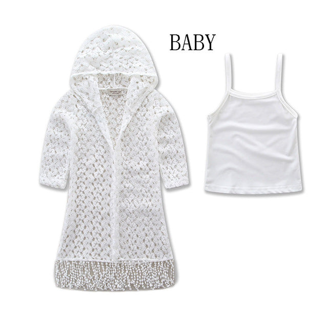 Mommy and Daughter Tassel Jacket and Tank