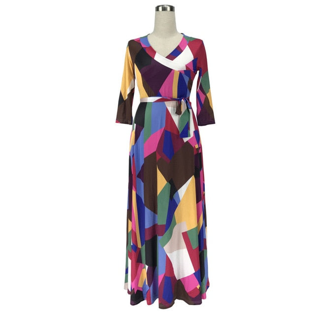 Freestyle Floor Length Dress