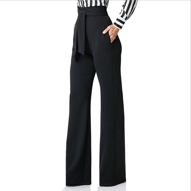 Boho Boss Flare Office Pants