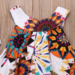 Baby Boho Floral Dress | Bohemian Style Dress for Toddlers