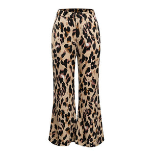 Leopard High Waist Pants