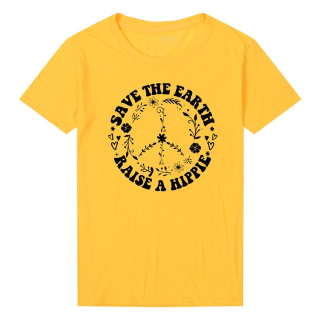 Save The Earth T Shirt