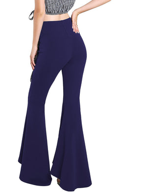 bohemian bell bottom pants