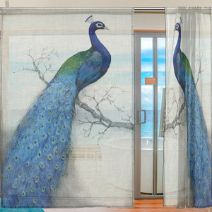 Peacock Window Curtains