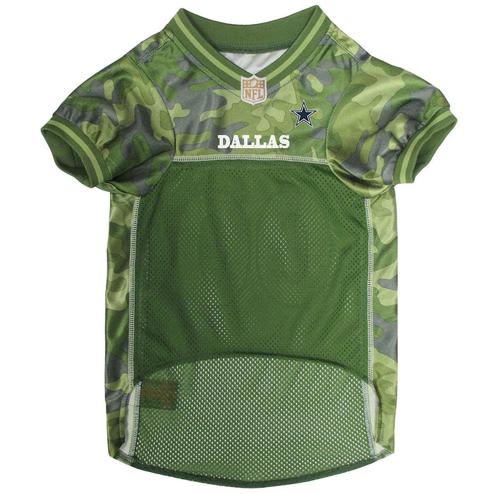 Dallas Cowboys Officially Licensed Camo Dog Jersey