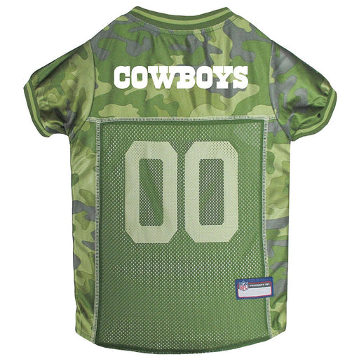 Dallas Cowboys Officially Licensed Camo Dog Jersey 5d4702652