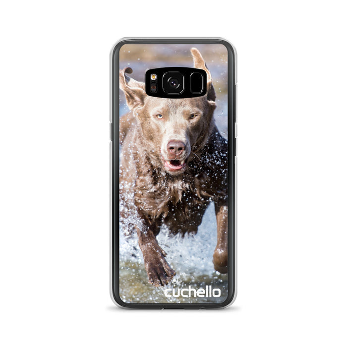 Cuchello Relentless Dog Samsung Galaxy Case (S7, S7 Edge, S8, S8+, S9, S9+)