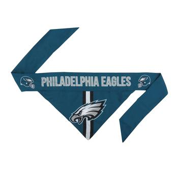 Philadelphia Eagles Official Tie On Dog Bandana
