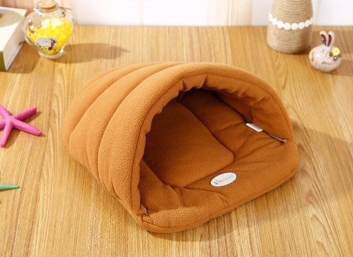 Cozy Slipper Style Dog Bed