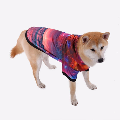 Speechless Cosmos Soft Autumn Dog Hoodie