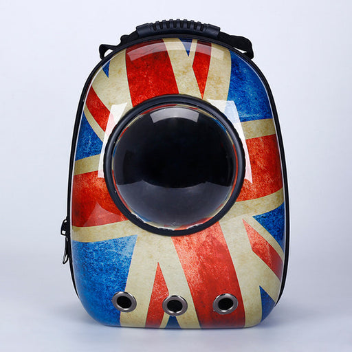 High Quality UK/Pokemon/Space/Travel Case Bubble View Pet Backpack