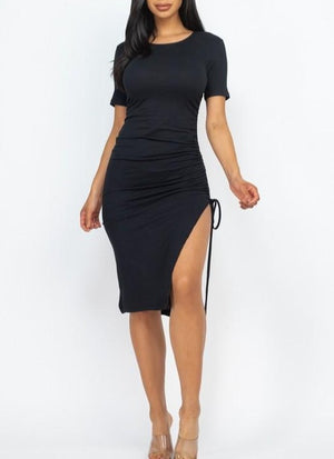 Sunday Shopper Dress {Black}