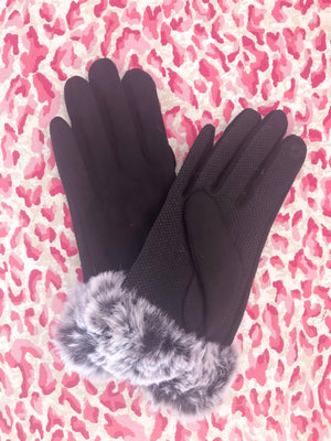 Boujie Girl Gloves [Black]
