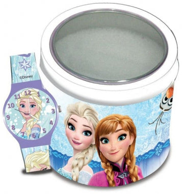 WALT DISNEY KID WATCH Mod. FROZEN  - Tin box