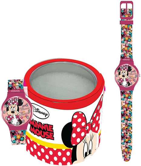 WALT DISNEY KID WATCH Mod. MINNIE - Tin Box