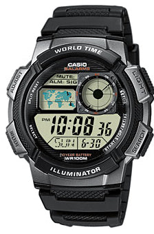 CASIO ILLUMINATOR WORLDTIME