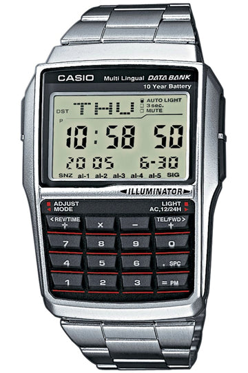 CASIO DATABANK CALCULATOR STEEL