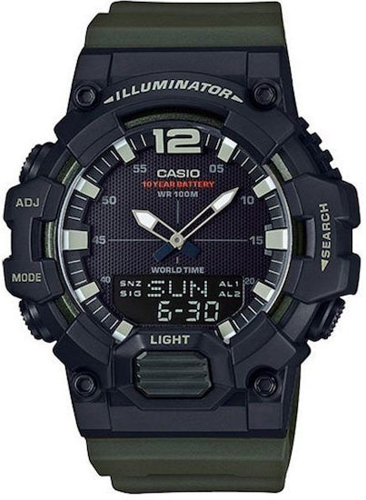 CASIO ILLUMINATOR Black / Army Green