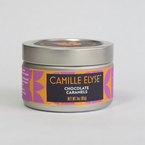 Chocolate Caramel with Hawaiian Sea Salt - 3 oz. tin