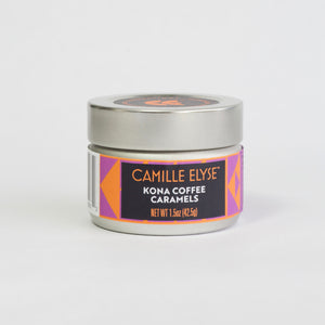 KONA Coffee Caramels - 1.5 oz. tin