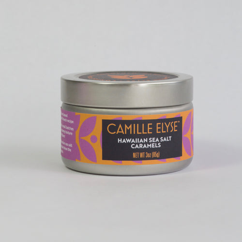 Hawaiian Sea Salt Caramel - 3 oz tin