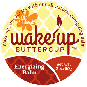 Wake Up Buttercup™ Energy Balm