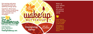 Wake Up Buttercup™ Energy Spray