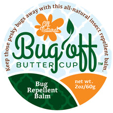 Load image into Gallery viewer, Bug Off Buttercup™ Bug Repellent Balm
