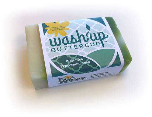 Wash Up Buttercup™ White Tea Peppermint Soap