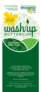 Wash Up Buttercup™ Eucalyptus Aloe Soap