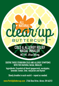 Clear Up Buttercup™ Natural Nasal Inhaler