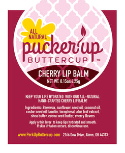 Pucker Up Buttercup™ Cherry Lip Stick