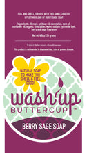 Load image into Gallery viewer, Wash Up Buttercup™ Berry Sage Soap